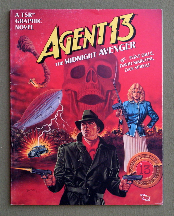 Image for Agent 13: The Midnight Avenger (A TSR Graphic Novel)