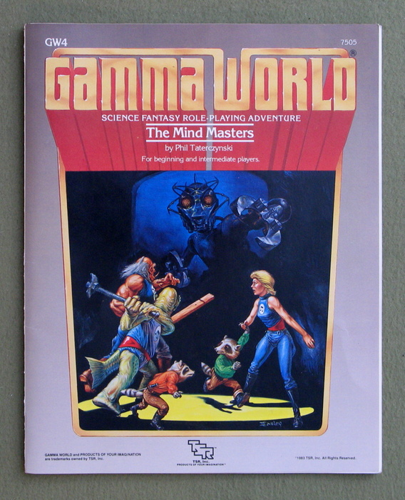 Image for Mind Masters (Gamma World Module GW4)