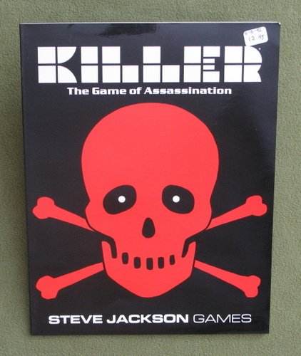Image for Killer: The Game of Assassination (3rd Edition)