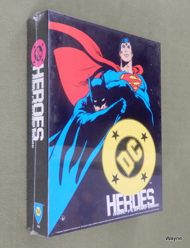 Image for DC Heroes Role-Playing Game (2nd Edition)