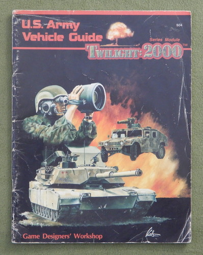 Image for U.S. Army Vehicle Guide (Twilight : 2000) - PLAY COPY