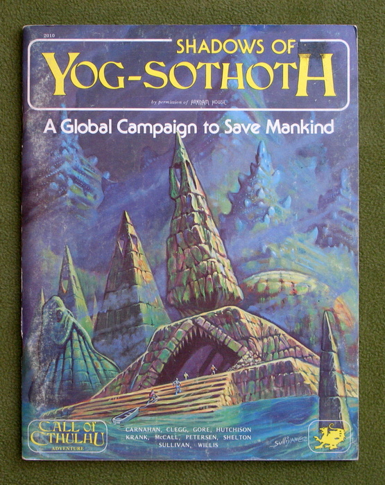 Image for Shadows of Yog-Sothoth: A Global Campaign to Save Mankind (Call of Cthulhu RPG)