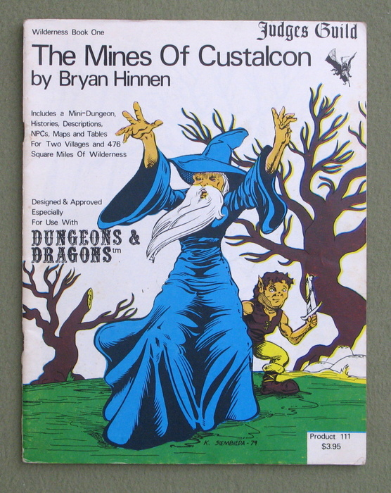 Image for The Mines of Custalcon: Wilderness Book One (Dungeons & Dragons) - 1ST PRINT
