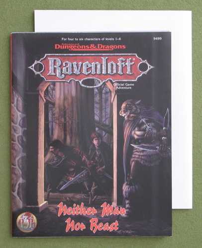 Image for Neither Man Nor Beast (Advanced Dungeons & Dragons: Ravenloft Adventure)