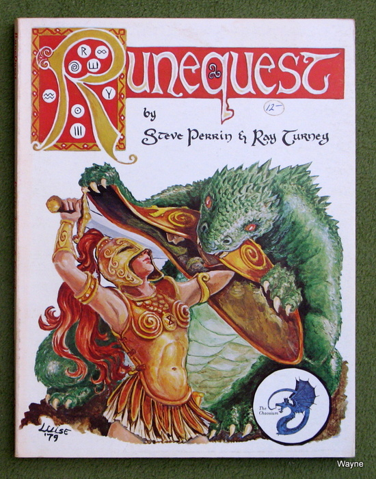 Image for Runequest, 2nd edition (1ST PRINT)