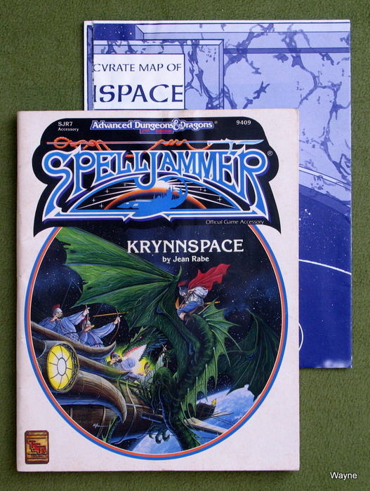 Image for Krynnspace (Advanced Dungeons & Dragons/Spelljammer Accessory SJR7) - PLAY COPY