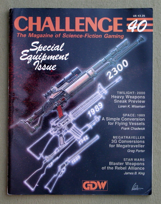Image for Challenge Magazine, Issue 40