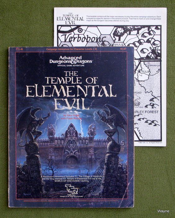 Image for Temple of Elemental Evil (Advanced Dungeons & Dragons/AD&D Supermodule T1-4) - HIGHLIGHTING