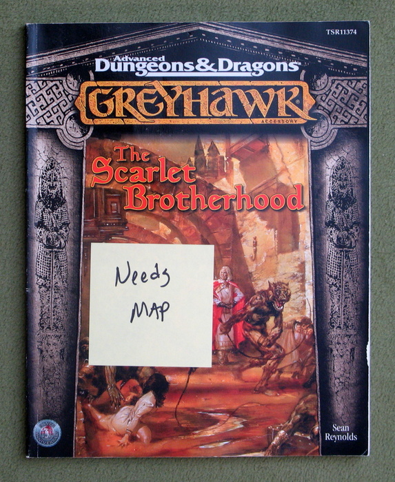Image for The Scarlet Brotherhood (Advanced Dungeons & Dragons : Greyhawk Accessory) - NO MAP