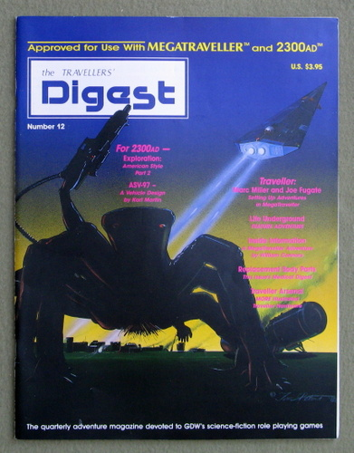 Image for Travellers' Digest, Issue 12 (Traveller/Megatraveller)
