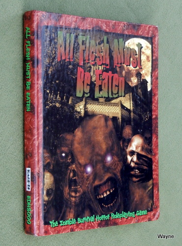 Image for All Flesh Must Be Eaten: The Zombie Horror Survival Roleplaying Game