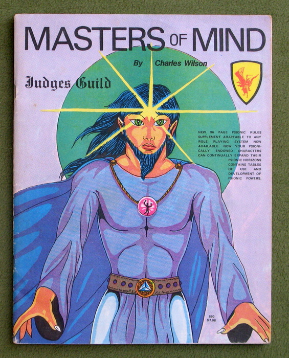 Image for Masters of Mind: Judges Guild Universal Fantasy Supplement