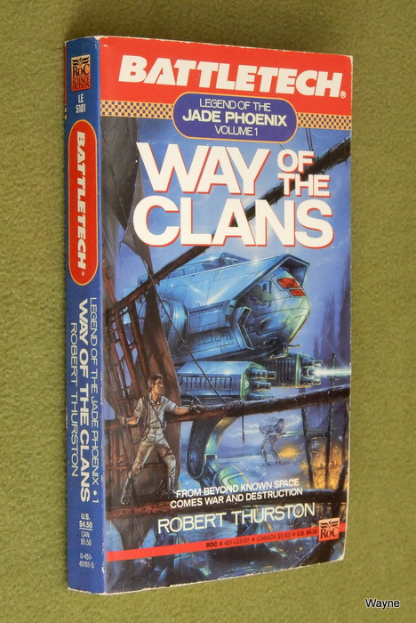 Image for Way of the Clans: Legend of the Jade Phoenix, Vol. 1 (Battletech)
