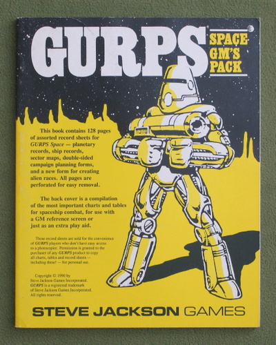 Image for GURPS Space GM's Pack