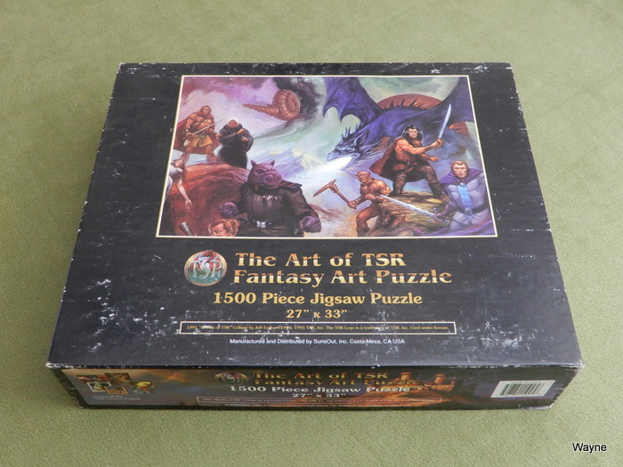 Image for The Art of TSR Fantasy Art Puzzle