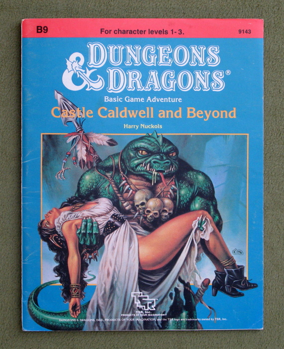 Image for Castle Caldwell and Beyond (Dungeons & Dragons Module B9) - PLAY COPY