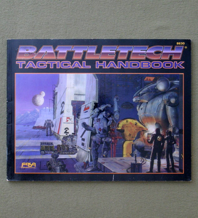 Image for Battletech Tactical Handbook