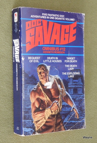 Image for Doc Savage Omnibus #12: Bequest of Evil, Death in Little Houses, Target for Death, The Death Lady and The Exploding Lake