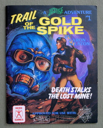 Image for Trail of the Gold Spike (Justice, Inc. Adventure #1)
