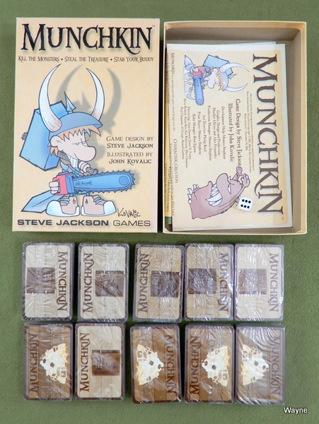 Image for Munchkin - with extra card packs