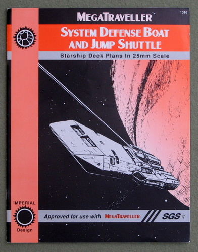 Image for System Defense Boat and Jump Shuttle (Traveller/Megatraveller)