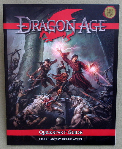 Image for Dragon Age: Quickstart Guide (Free RPG Day 2011)