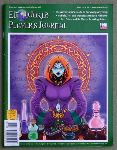 Image for EN World Player's Journal 1 (D20 System)
