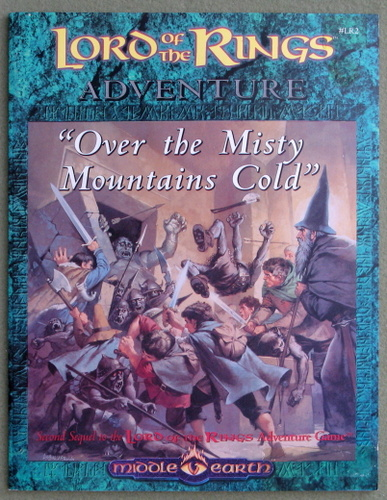 Image for Over the Misty Mountains Cold (Middle Earth Role-playing Game)