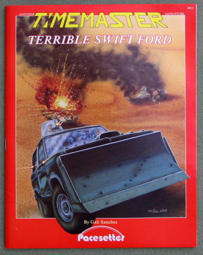 Image for Terrible Swift Ford (A Timemaster Adventure)