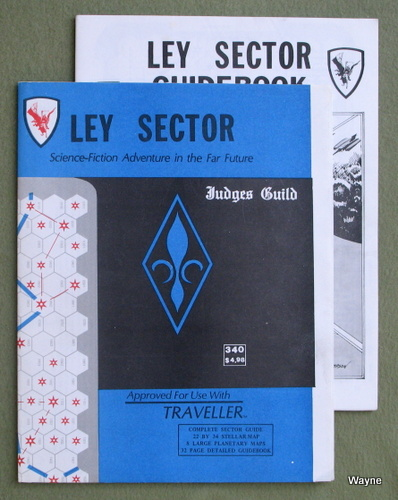 Image for Ley Sector (Traveller RPG)