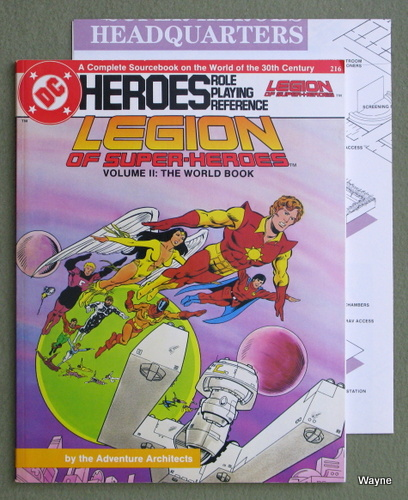 Image for Legion of Super-Heroes, Volume II: The World Book (DC Heroes)