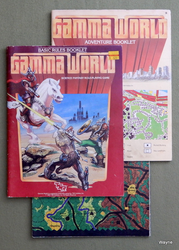 Image for Gamma World (2nd edition) - PLAY SET