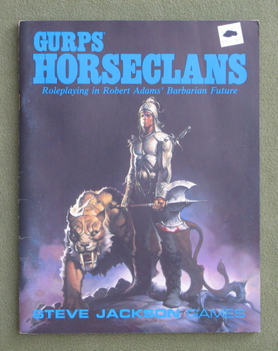 Image for GURPS Horseclans: Roleplaying in Robert Adam's Barbarian Future