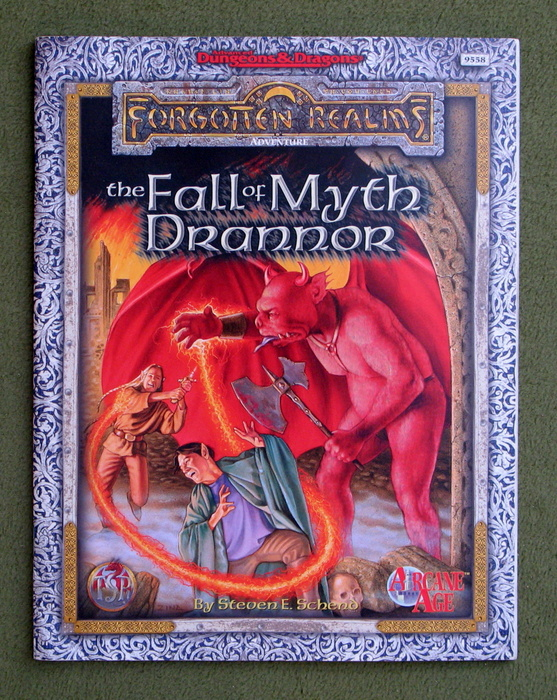 Image for The Fall of Myth Drannor (Advanced Dungeons & Dragons/Forgotten Realms: Arcane Age Adventure)