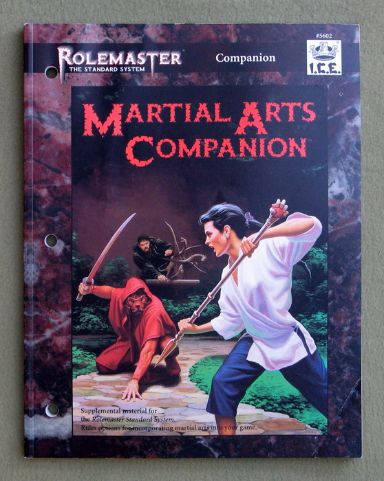 Image for Martial Arts Companion (Rolemaster)