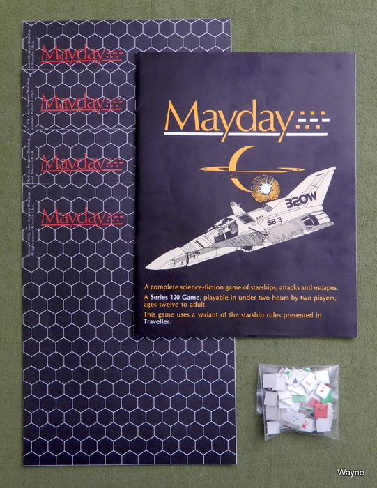 Image for Mayday: A Complete Science Fiction Game [Ziploc Edition]