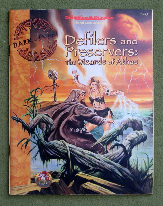 Image for Defilers and Preservers: The Wizards of Athas (Advanced Dungeons & Dragons: Dark Sun Accessory)