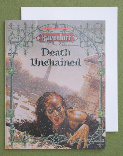 Image for Death Unchained (Advanced Dungeons & Dragons: Ravenloft Adventure)