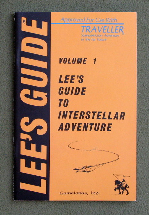 Image for Lee's Guide to Interstellar Adventure, Volume 1 (Traveller)