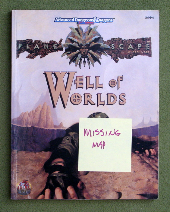 Image for The Well of Worlds (Advanced Dungeons & Dragons: Planescape) - NO MAP