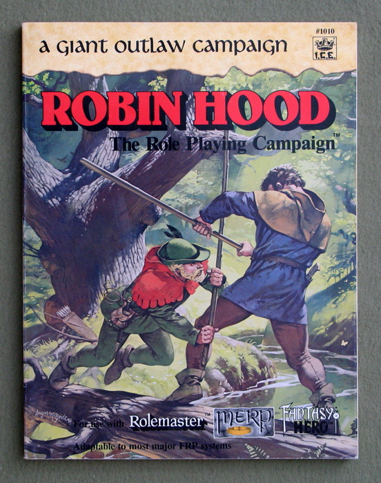 Image for Robin Hood: A Giant Outlaw Campaign (Rolemaster)