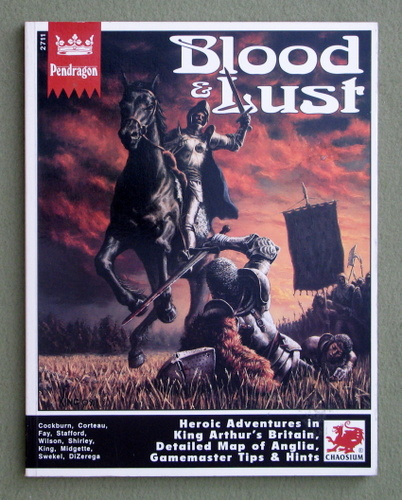 Image for Blood & Lust (Pendragon)