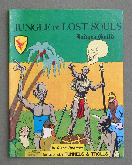 Image for Jungle of Lost Souls (Tunnels and Trolls)