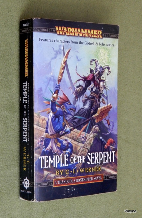 Image for Temple of the Serpent (Warhammer: Thanquol & Boneripper) - Reading Copy