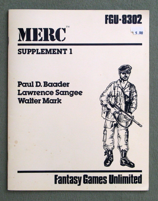Image for MERC: Supplement 1