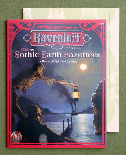 Image for The Gothic Earth Gazetteer (Ravenloft: Masque of the Red Death)