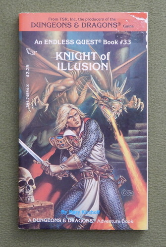 Image for Knight of Illusion (Endless Quest Book 33: Dungeons & Dragons)