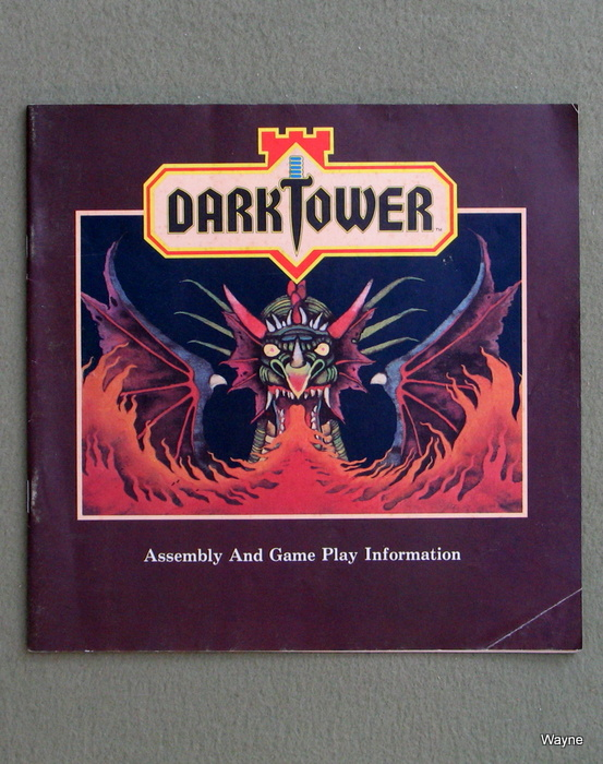 Image for Dark Tower: Assembly and Game Play Booklet