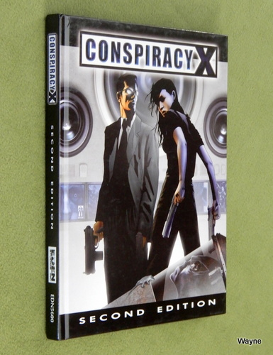 Image for Conspiracy X 2.0 Corebook (Second Edition)