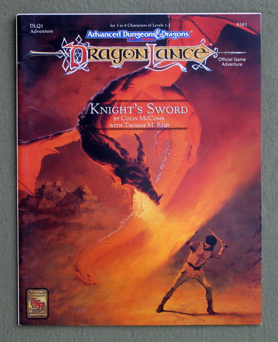 Image for Knight's Sword (Advanced Dungeons & Dragons/Dragonlance Module DLQ1)